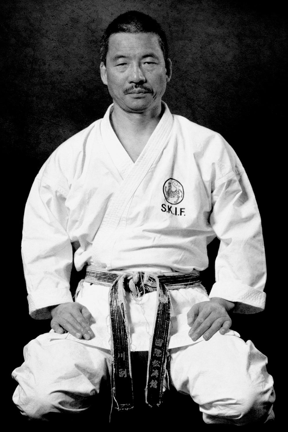 Shotokan Karate Sensei Norio Kawasoe