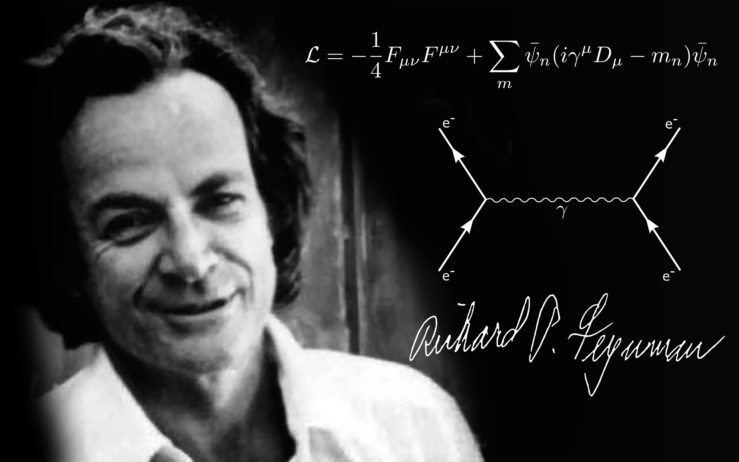 Physics Richard Feynman QED Quantum Electro Dynamics